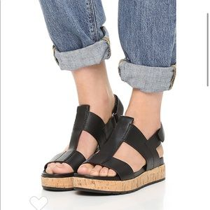 Sigerson Morrison 'Cabie' Flatform Sandal